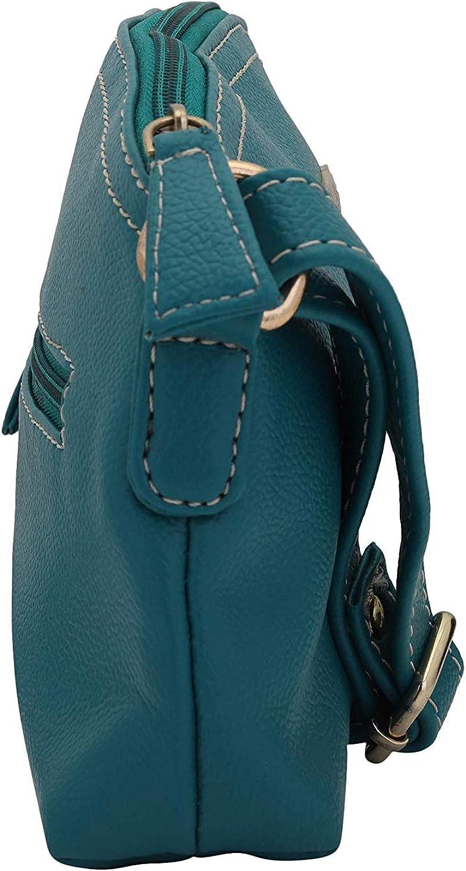 Turquoise Lapis O Lupo Light Women Sling Bag Multi-functional pocket design