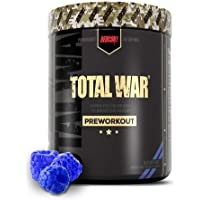 Redcon1 Total War - Pre Workout Powder, 50 Servings, Boost Energy, Increase Endurance and Focus, Beta-Alanine, 350mg…