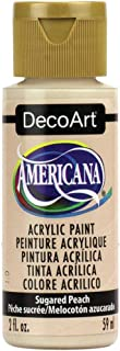 product image for DecoArt Americana Acrylic Paint, 2-Ounce, Sugared Peach