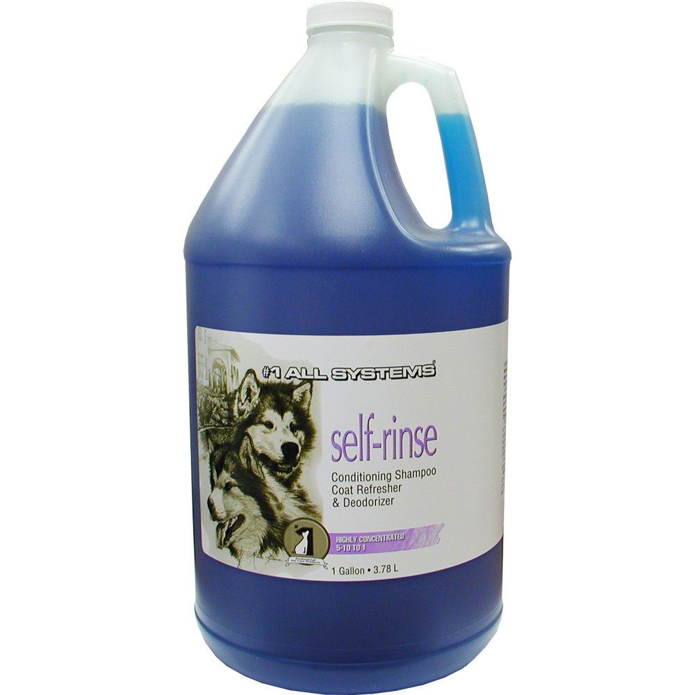 All Systems Self-Rinse Conditioning Shampoo and Coat Refresher-Gallon