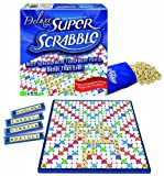 super scrabble game - Super Scrabble Deluxe Edition by Winning Moves TOY