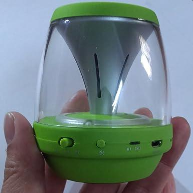 Amazon.com: Ultra-porttil inalmbrico Altavoz Bluetooth con espectculo de luz Multicolor LED ? Build-in Radio FM, AUX, micrfono, ranura para tarjeta de tf, ...