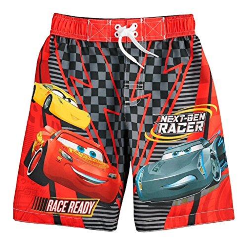 Lightning Mcqueen Short - Cars Lightning McQueen Disney Boy Swim Trunks Shorts (4)
