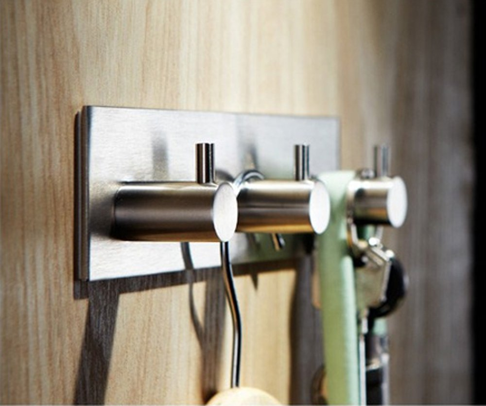 Btsky brushed stainless steel bathroom lavatory closets for Bathroom ideas 3m x 3m