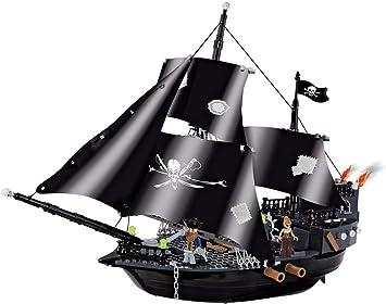 Konstruktionsspielzeug Piratenschiff Bauklötzen Bausteine COBI 6016
