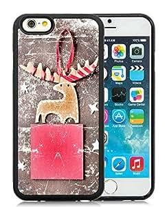 Popular Design Case Cover For HTC One M7 Christmas Deer Black Hard Case 12