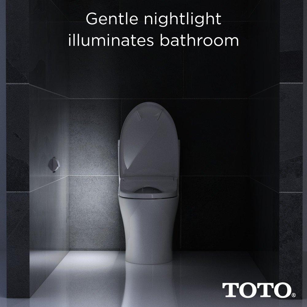 Amazon.com: TOTO SW583#01 S350e WASHLET Electronic Bidet Toilet Seat ...