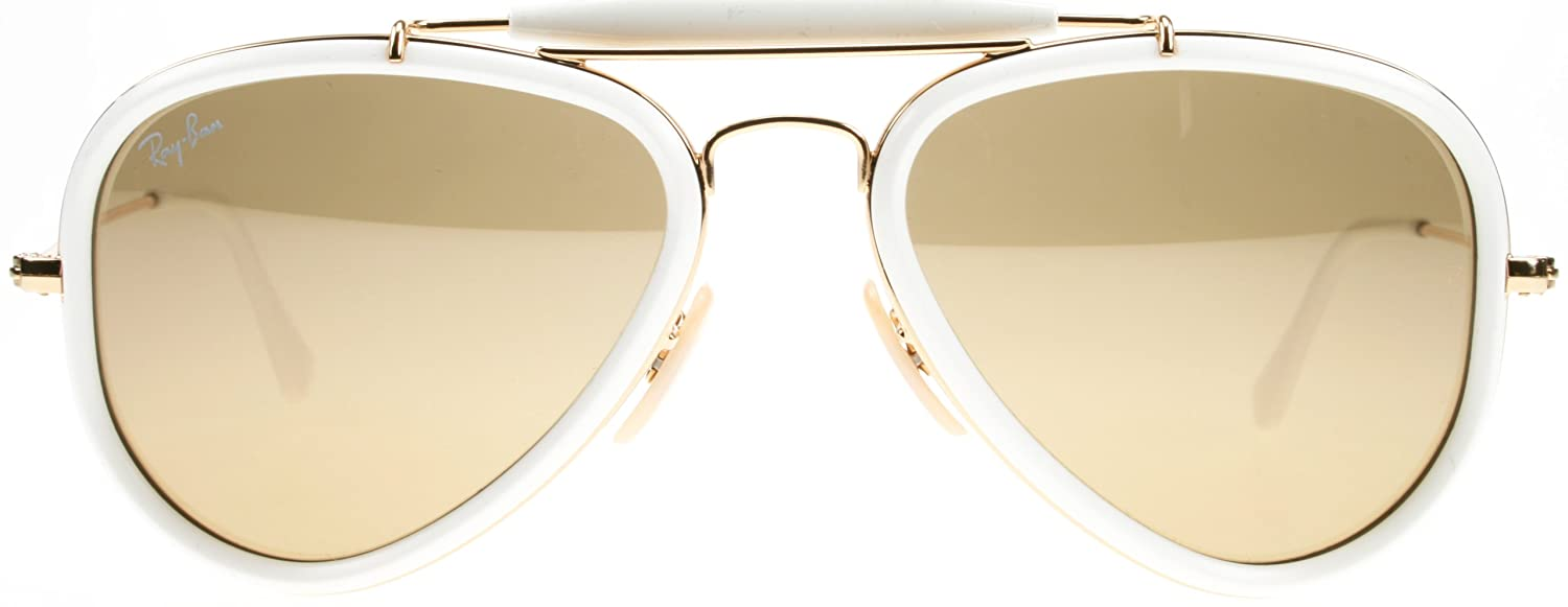 f2ae18a8a1 Ray-Ban OUTDOORSMAN ROAD SPIRIT (RB 3428 001 3K 54)  Amazon.co.uk  Clothing