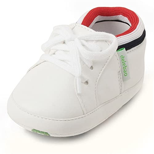 DELEBAO Zapato para Bebé Niña Primeros Pasos Zapatos Cuero Bebe ...