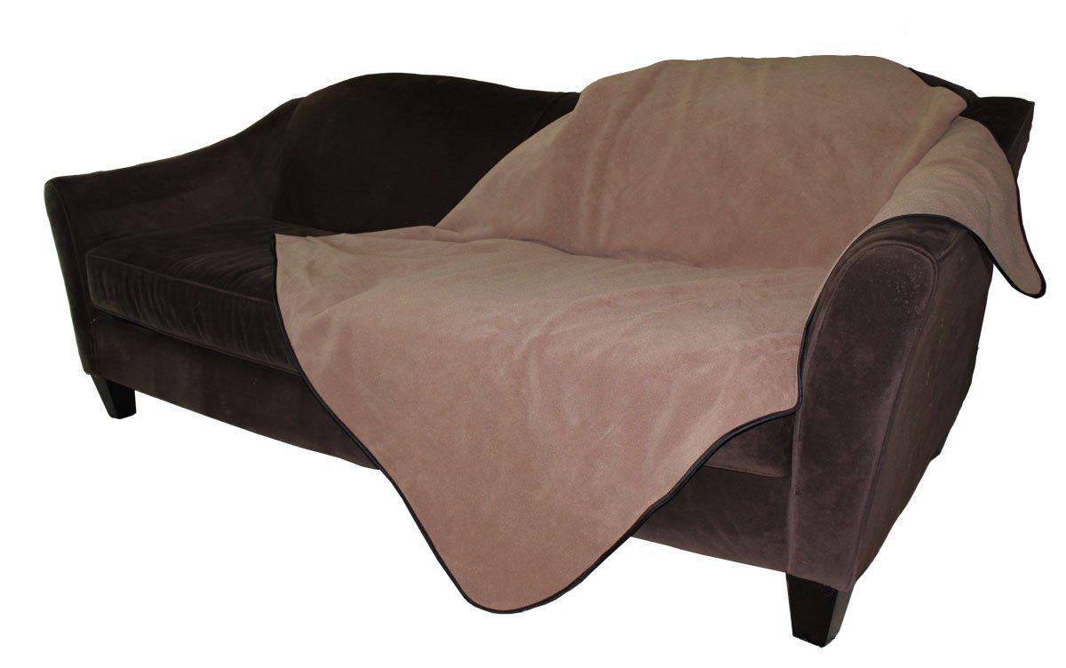 Mambe 100% Waterproof Pet Blanket (Medium 48''x 58'', Cappuccino)