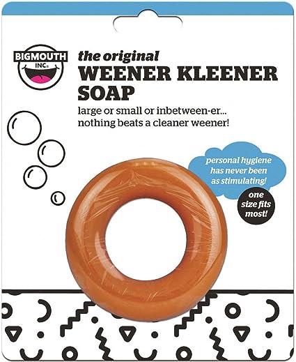 Funny Weener Kleener Soap