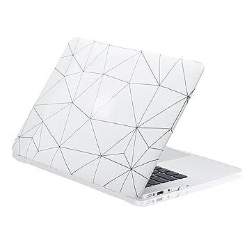 Carcasa MacBook Pro 13 Rígida de KAOPU Llamativa Funda Dura Protectora con Baño de Caucho Mate Helado Compatible con Modelos A1706 / A1708