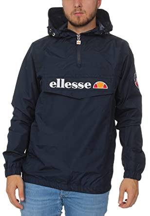 ellesse Jacke Herren Mont 2 OH Jacket Dunkelblau Dress Blue