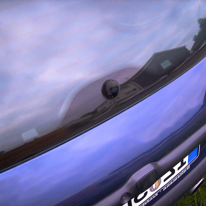 AutoScheich/® Blindstopfen Heckwischer Scheibenwischer Heckscheibe Heckklappe Wischerarm Heck Clean Abdeckung Antenne Adapter Universal 46mm Auto KFZ LKW
