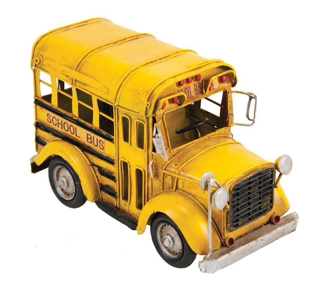 Vintage Looking Yellow School Bus by INsideOUT