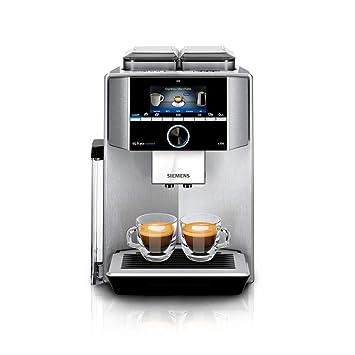 Siemens EQ.9 TI9575X1DE - Cafetera (Independiente, Máquina espresso, 2,3 L, Molinillo integrado, 1500 W, Acero inoxidable): Amazon.es: Hogar