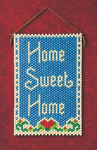 (Home Sweet Home Beaded Banner Kit The Beadery Craft Products 5067 Pony Beads)