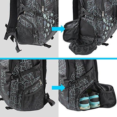 Yoga Mat Backpack Gym Yoga Bag Multi Purpose Sport