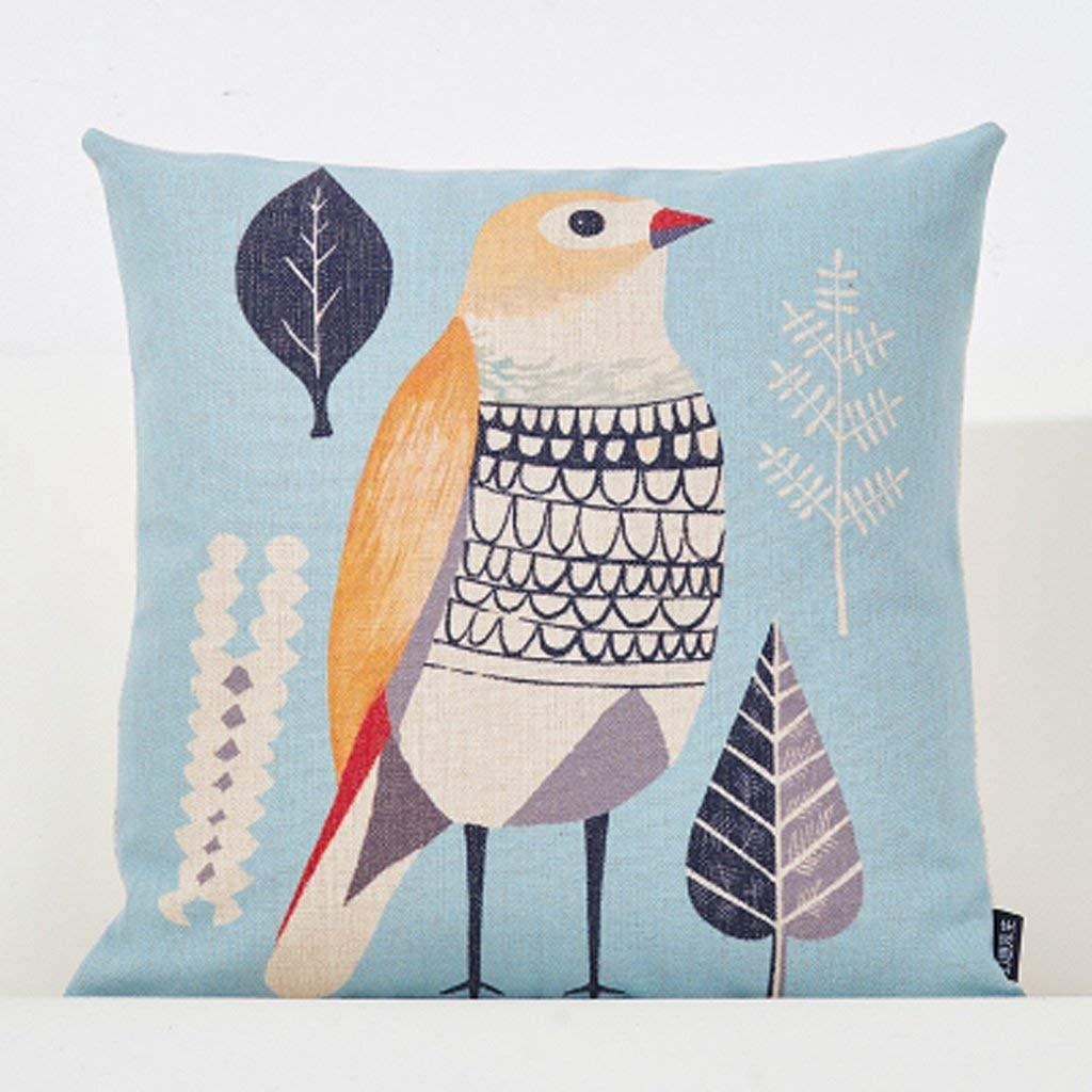 Polymer Soft Pillow 45X45Cm Square Modern Creative Sofa Cushion Office Bedside Cushion