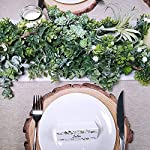 Supla-66-Long-43-Wide-Artificial-Wired-Boxwood-Leaf-Garland-Faux-Greenery-Garland-String-Hanging-Boxwood-Twigs-Vine-Garland-Boxwood-Greenery-Table-Runner-for-Spring-Weddings-Indoor-Outdoor-Dcor