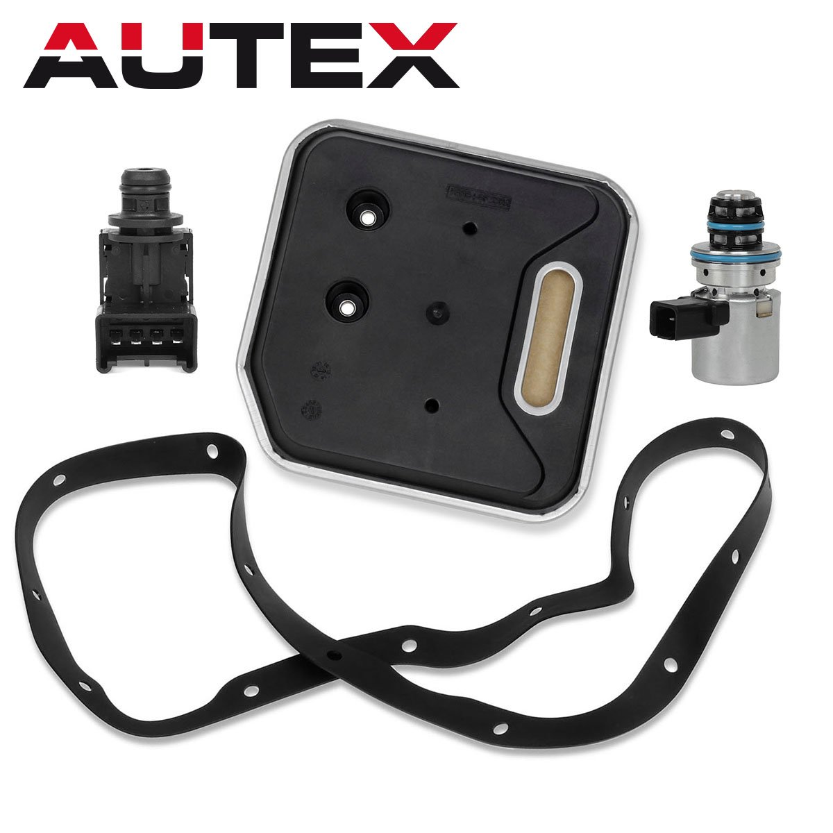 AUTEX A500 42RE 44RE Transmission Governor Pressure EPC Solenoid Filter Kit 4617210 56041403AA Compatible With Jeep/Dodge Dakota & Durango & Ram & Van 2000 up