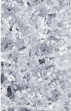 KRAFT Crinkle Cut Shredded Zig Zag Paper 10# pounds basket filler