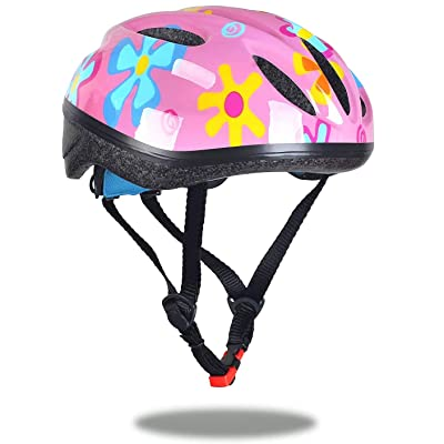 Dostar Toddler Helmet Child CPSC Certified Kids Bike Helmet Youth Boys/Girls Helmet Adjustable Multi-Sport Safety Cycling Skateboard Scooter Inline Skating Protective Gear(S/M)