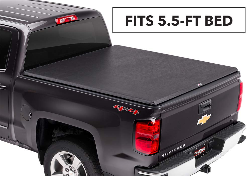 TruXedo TruXport Soft Roll Up Truck Bed Tonneau Cover|271801| fits 2014 - 2018 GMC Sierra/Chevy Silverado 1500, 2019 Limited/Legacy, 5.8' Bed