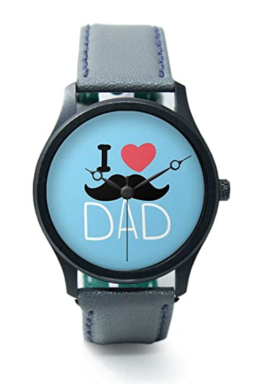 92fa5a9732c0 Wrist Watch for Men - BigOwl Unique Branded Dad Quote Premium Fashion  Watches for Dad -