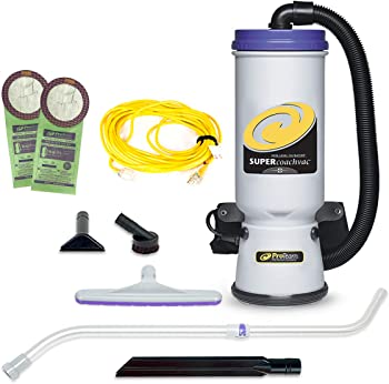 ProTeam Super CoachVac Backpack Commercial Vacuum Cleaner