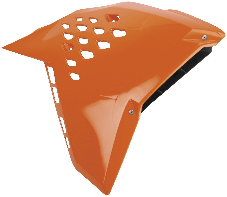 Cycra 1CYC-1901-22 Powerflow Intake Radiator Shroud - Orange