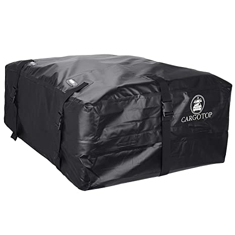 Waterproof Cargo Bag >> Cartop Cargo Bag Waterproof Cargo Bag Easy To Install Soft Rooftop Luggage Carriers Works With Or Without Roof Rack 15 Cubic Feet Black