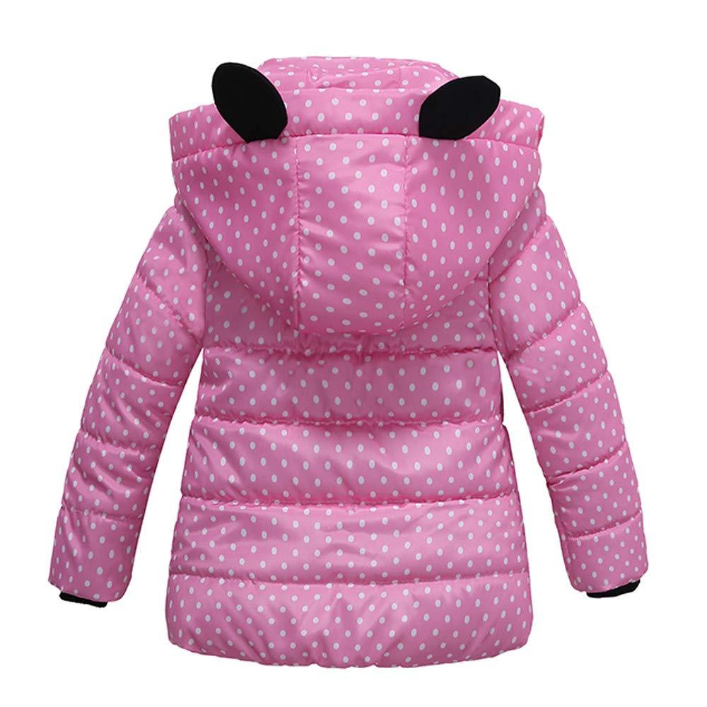 Amazon.com: Ankola Down Jacket Baby Girls Hooded Snowsuit Winter Warm Padded Hooded Down Windproof Jacket Coat: Clothing