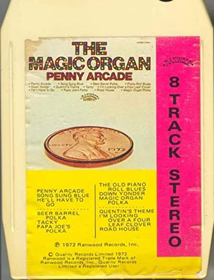 Amazon com : MAGIC ORGAN Penny Arcade 8 Track Tape