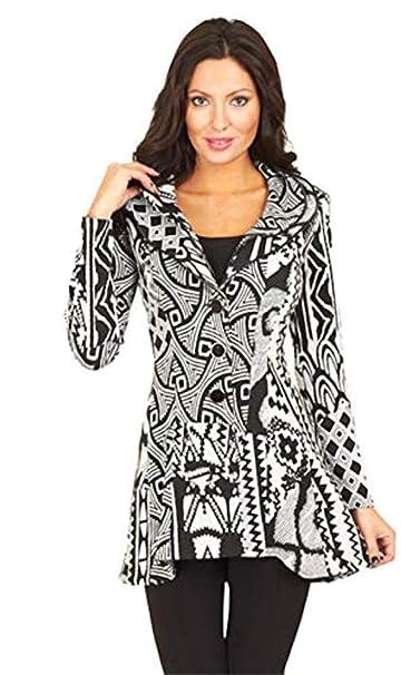 Donna 44 Bianco Design Amazon Frank Lyman Giacca it Nero SAwpY6qt