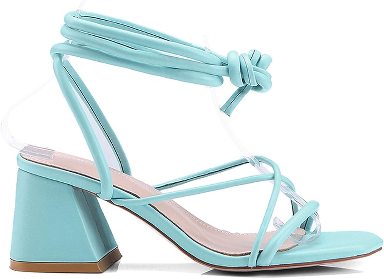 Fairy-Margot Black Cross Strap Summer Sandals Women Hoof High Heels Solid Party Woman Shoes