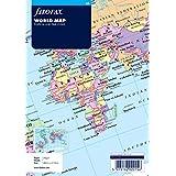 Filofax A5 World Map