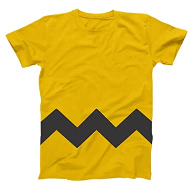 funny threads outlet charlie brown stripe halloween costume cartoon outfit adult mens shirt xxx large