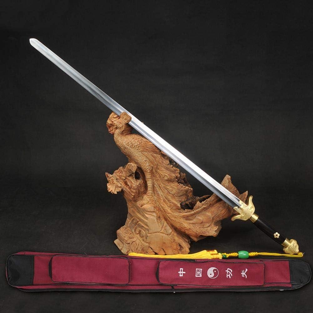 Gerioie Estuche de Transporte de Espada, Bolsa de Transporte de Espada Ajustable y Liviana para Fitness, Accesorio de Espada de Portador de Espada Duradero para Espada de Artes Marciales(Dark Red): Amazon.es: Deportes