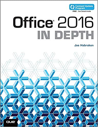 Office 2016 in depth includes content update program 1 joe office 2016 in depth includes content update program 1st edition kindle edition fandeluxe Choice Image