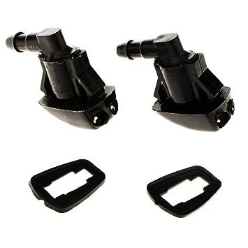 IPOTCH 2 Unidades Pulverizador de Limpiaparabrisas Reemplazo Automoviles, 24x15x30 mm: Amazon.es: Coche y moto