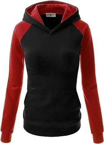 Women Hoodie Lananas Casual Basic Drawstring Long Sleeve Pullover Sweatshirts with Kangaroo Pockets