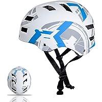Automoness Casco Skate,Casco Bicicleta con CE Certifiacdo,Unisex Adultos Jovenes Ninos.Multi-Deporte para Ciclismo,Skate…