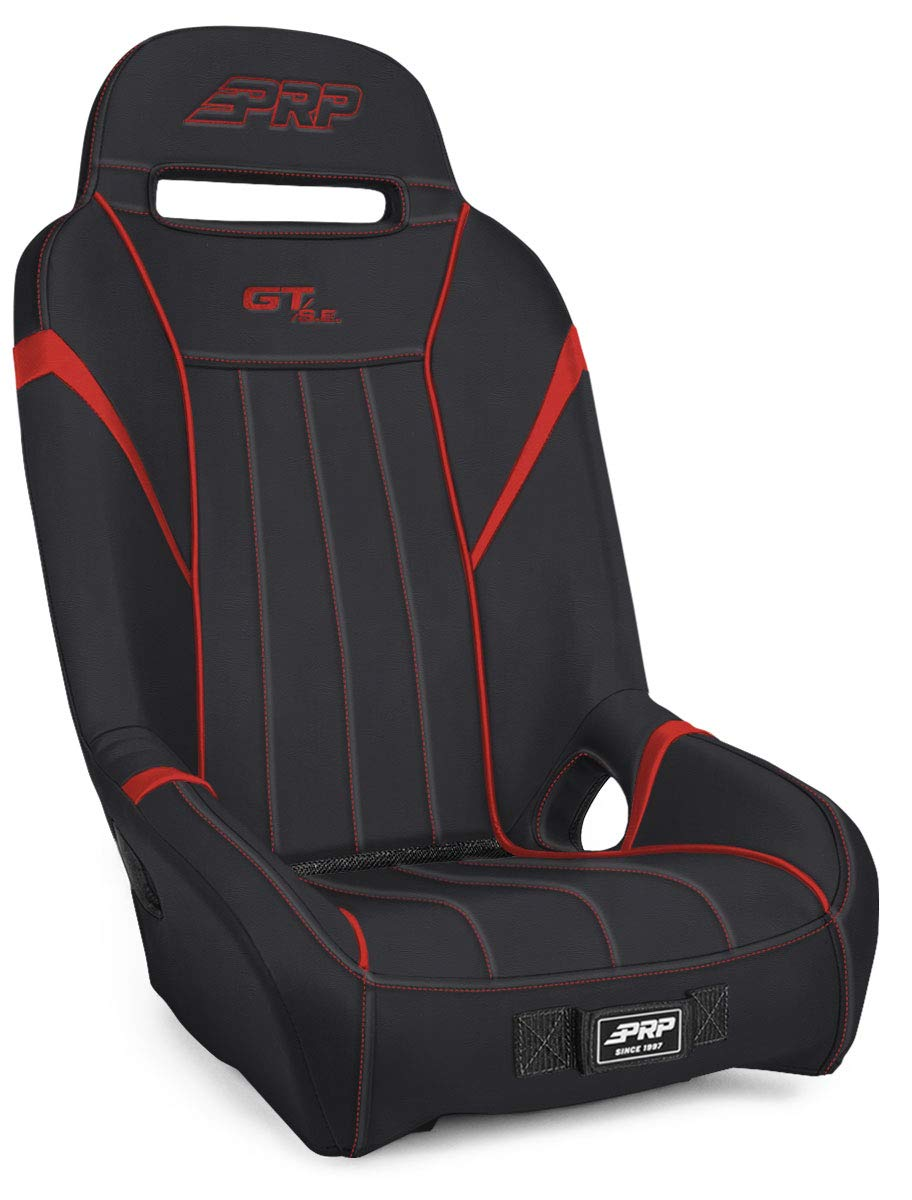 Suspension Seat for Polaris RZR PRP Seats GT//S.E Black and Red Rear