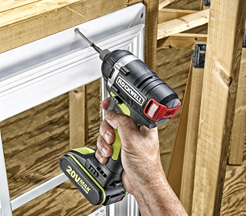 Rockwell RK2860K2 Li-ion Brushless Impact Driver, 20V by Rockwell (Image #5)