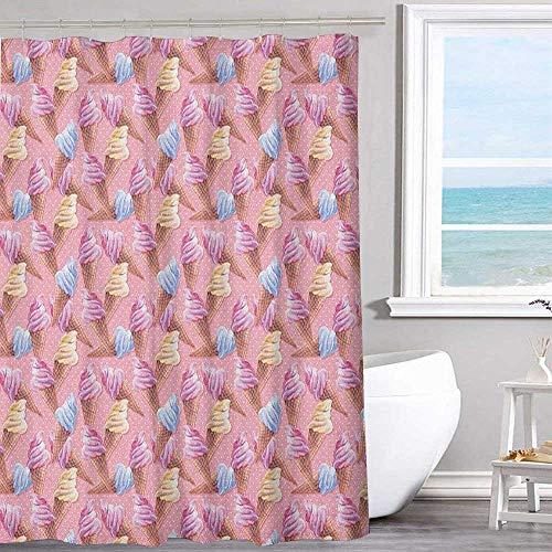(MKOK Hotel Shower Curtain 54