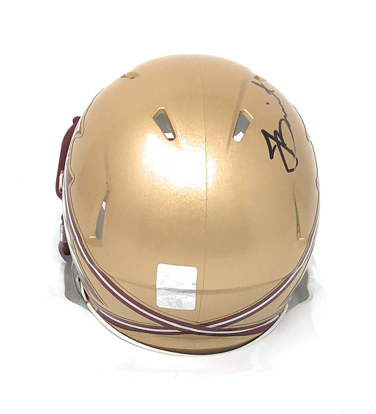 Jameis Winston Florida State Seminoles Signed Autograph Riddell Speed Mini Helmet Winston GTSM Player Hologram Certified