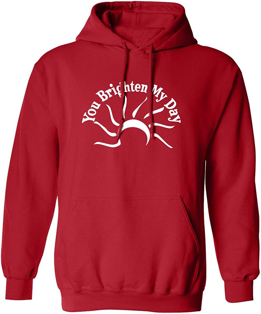 ZeroGravitee You Brighten My Day Adult Hooded Sweatshirt