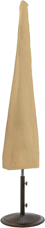 Classic Accessories 58902 Terrazzo Water-Resistant 11 Foot Patio Umbrella Cover,Sand,10 in