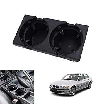 51168217953 FRONT CENTER CONSOLE DRINK CUP HOLDER FOR BMW 3 SERIES E46